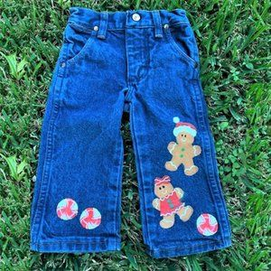 Hand Painted Wrangler Jeans